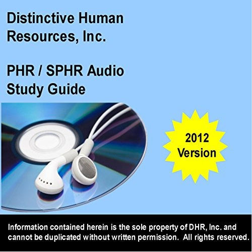 PHR - SPHR Study Guide: 2012 Edition cover art