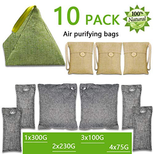 Product Image of the Bamboo Charcoal Air Purifying Bags