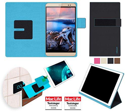 reboon Hülle für Huawei MediaPad X2 Tasche Cover Case Bumper | Testsieger | Schwarz
