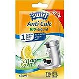 Swirl 8221653 Anti Calc Bio-Liquid 1 Portion (40ml) mit Citrus Power   Flüssigentkalker geeignet für Kaffeemaschinen, Padmaschinen, Wasserkocher usw, Plastik