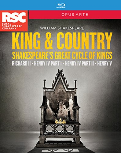 Shakespeare: King & Country Box Set [4 Blu-Rays]