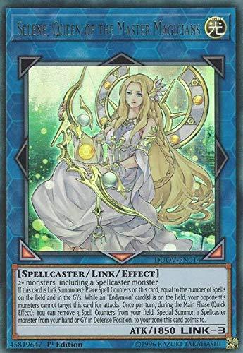 Selene, Queen of The Master Magicians - DUOV-EN014 - Ultra Rare - 1st Edition