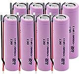 Inr 18650-30Q 3.7V 3000Mah Li-Ion 20A Batería De Alta Descarga Recargables De Alta Intensidad Diy-8Pcs