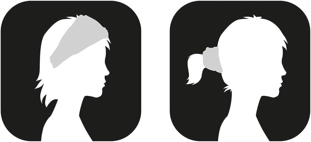 Queta Stirnb/änder Feuchtigkeitstransport Athletisch,Sports Stirnband Einstellbare,Moisture Wicking Stirnband,Herren Stirnband d/ünn,Schwei/ßband f/ür Herren Damen,Gelb