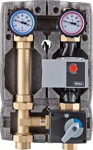 Heizkreisset Easyflow DN 25 mit Isolierung, 3-Wege-Mischer Stellmotor+Wilo Yonos Para 25-6 OEM