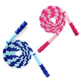 Best Kids Jump Ropes - JAWENJOY Jump Rope Soft Beaded Tangle-Free Segmented Length Review