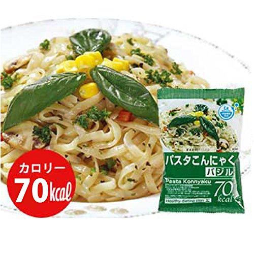 10種から選べるこんにゃく麺4食入り (バジル4食)
