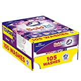 Image of Bold Professional Washing Capsules Laundry Loads, Lavender and Camomile, 105-Count