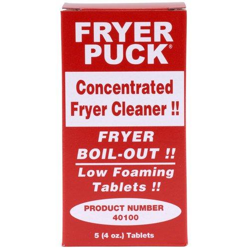 Fryer Puck 401304001 4oz Deep Fryer Cleaner Tablets (5 Tabs/Box)