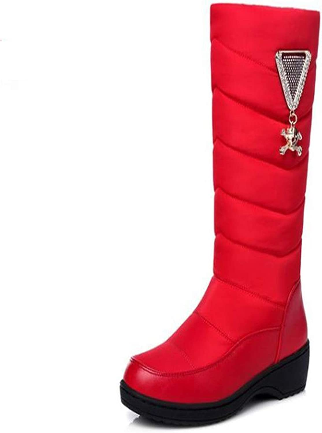 Excellent.c Down Boots Snow Boots Autumn and Winter Boots Women's Warm Boots