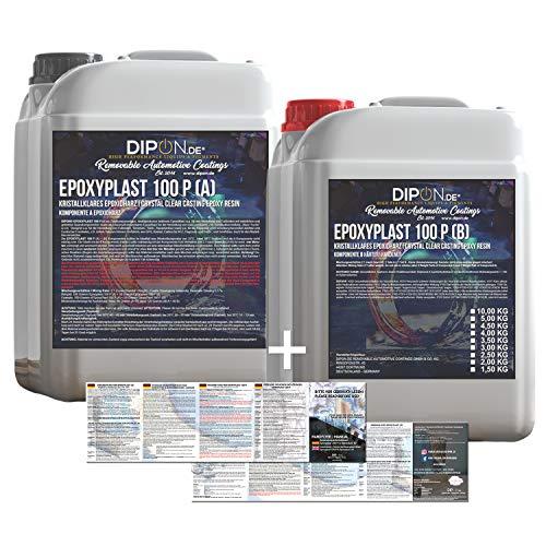 Dipon EpoxyPlast Epoxidharz, 3kg