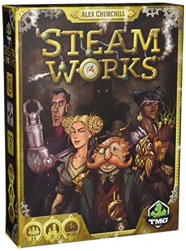 Tasty Minstrel Games TMG01016 - Brettspiele, Steam Works
