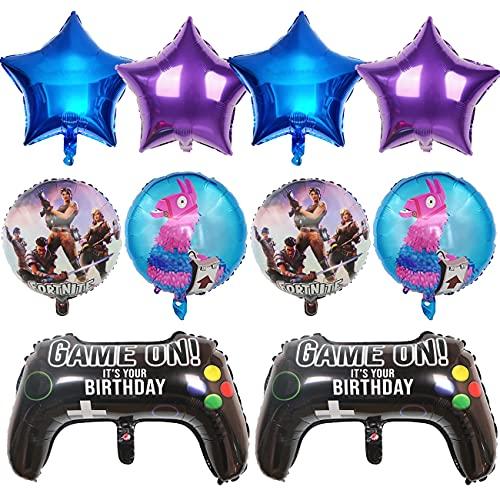 Gaming Cumpleaños Decoracion - simyron Artículos...