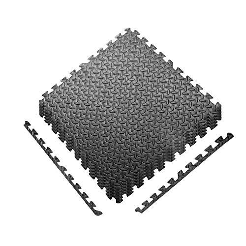 CCLIFE Esterilla Puzzle de Fitness 60x60x1cm 30x30x1cm Suelo