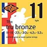 Rotosound TB11 Tru Bronze Acoustic Guitar Strings (11-52)
