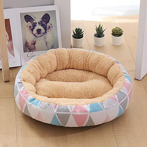 Chengxin bedden & meubels Beige/veelhoekige mode huisdier benodigdheden Kennel kat nest kleine middelgrote hond 50 * 50 * 14 CM huisdier hond mat bedden & meubels