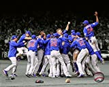 The Chicago Cubs celebrate winning Game 7 of the 2016 World