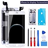 YPLANG Ecran pour iPhone 6s Blanc Complet 4.7'' - Ecran LCD Vitre Tactile préassemblés avec capteur de proximité,...
