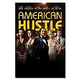 Sanwooden American Hustle Movie Poster Wandkunst Bilder