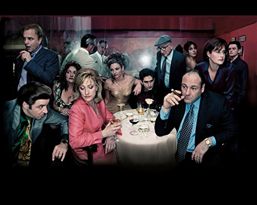 Sopranos Poster TV Show Wall Art 16x20 Inches