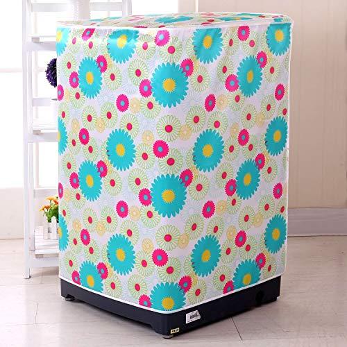 Sannysis Dekorative Abdeckkappen Universal Desktop Beutelabdeckung Staubabdeckung Tuch MÃbelstoff Waschmaschine groÃe KÃche x-004
