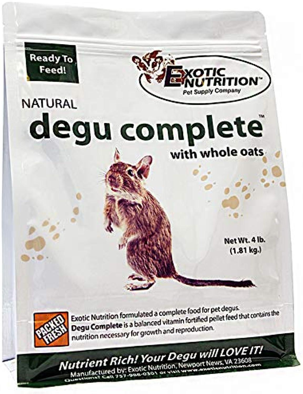 Exotic Nutrition Degu Complete w Oats (10lb.)