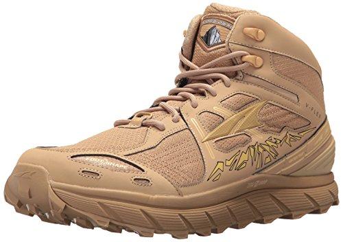 Altra Lone Peak 3.5 Mid Mesh Men's Trail Running Shoe, Sand, 8