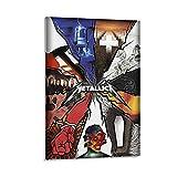ZXCMNB Metallica Album Covers Leinwand Kunst Poster und