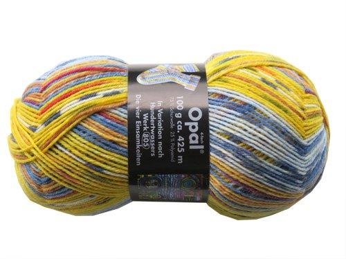 Opal Sockenwolle Hundertwasser Die vier Einsamkeiten