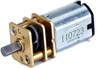 300RPM 55MM Schraubengewinde-Ausgangswelle Geschwindigkeitsreduzierung Getriebe Motor 30//60//100//150//200//300//40 //500RPM Akozon 6V Getriebemotor mit langer M3