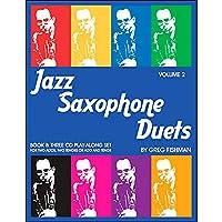 Jazz Saxophone Duets Volume 2
