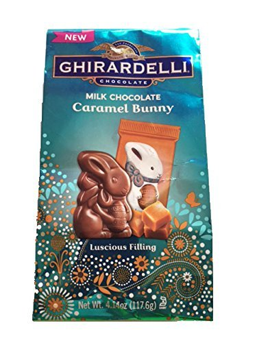 image of Ghirardelli Caramel Chocolate Bunny