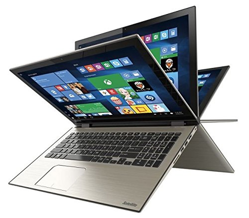 Toshiba - Satellite Radius 15 2-in-1 15.6' Touch-Screen Laptop - Intel Core i7 - 8GB Memory - 1TB Hard Drive - Brushed Metal