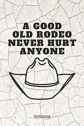 """Notebook: My Rodeo Quote / Saying Bull and Horse Rodeo Planner / Organizer / Lined Notebook (6\"""" x 9\"""")"""