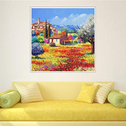 Impressionist meesterdecoratie schilderij Chinese huis hoofddecoratie muurschildering