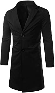 Howme-Men Fit Spring/Autumn Single-Breasted Trench Coat Jacket Clothes