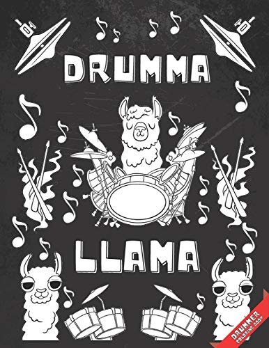 Drummer Coloring Book: 25 Pages With Quotes Related to Percussionist Life - Gag Gift for Men Who Play Drums