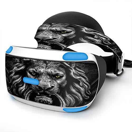 Sony Playstation VR Headset Skin Decal Vinyl Wrap - Lions Head Doorknocker