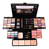 PhantomSky Professional 39 Colors Eyeshadow Palette All in one Cosmetic Makeup Gift Set including Matte Shimmer Highly Pigmented Eye Shadows, Blush, Pressed Powder and Lipstick