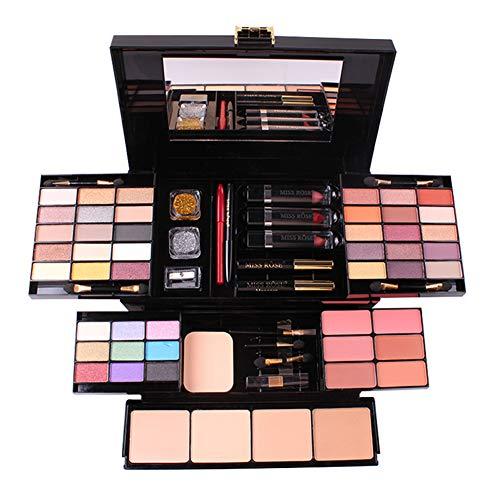 PhantomSky 39 Couleurs Fard à Paupières Palette Maquillage Cadeau Ensemble Kit Cosmétique Combinaison avec Rouge à lèvres, Rougir et Correcteur #1 - Parfait pour un usage professionnel et quotidien