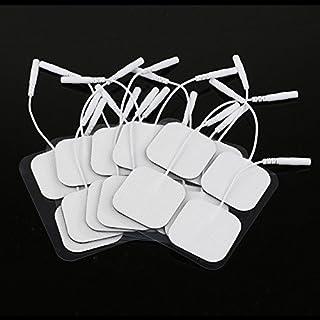 Greenbang Almohadillas De Electrodos Decenas Almohadillas De Repuesto De Almohadillas Autoadhesivas, 4x4 cm, Paquete De 20