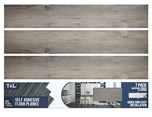 Floor Planks Tiles Self Adhesive...