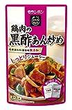 モランボン 鶏肉の黒酢あん炒め 120g