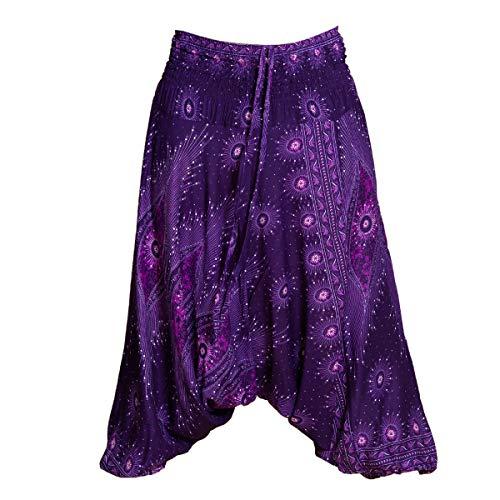 PANASIAM Aladin Pants pcock V23 Purple L