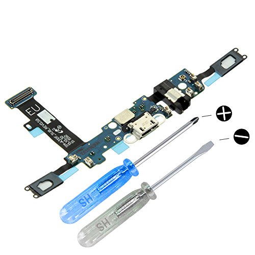 MMOBIEL Connettore Dock Compatibile con Samsung Galaxy A3 A310F (2016) Porta per caricare Micro Cavo Flessibile incl cacciaviti