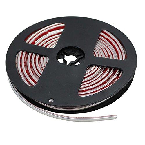 Chrom Zierleiste 4mm x 5m ; Auto Chromleiste Universal Selbstklebend Flexibel