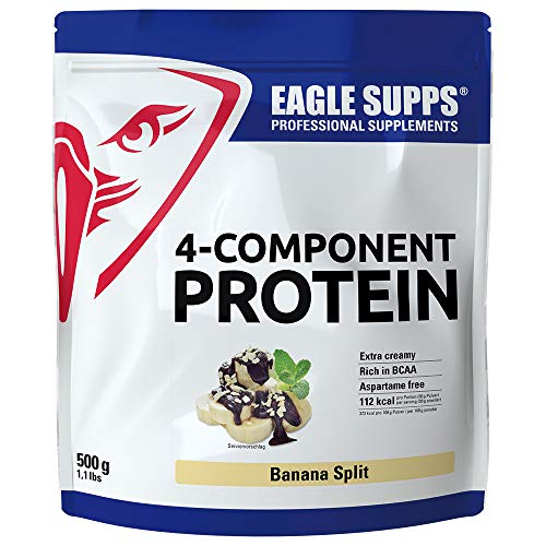 Eagle Supps 4-Komponenten Protein 500g Banana Split