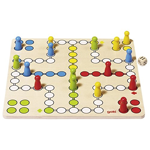 Goki 56710 - bordspel - Ludo, basic
