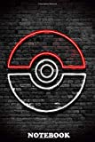 Notebook: Pokemon Ball Wall , Journal for Writing, College Ruled Size 6' x 9', 110 Pages