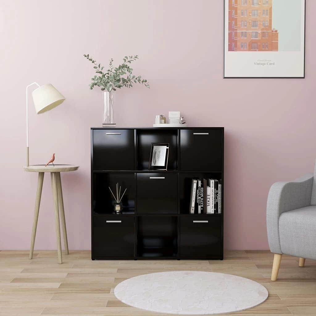 vidaXL 大決算セール Book トラスト Cabinet Shelf Sidebo Side Chest Storage